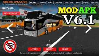 Gambar cover ⚡NEW⚡ IDBS Bus Simulator v6.1 Mod Apk + Data Unlimited Money