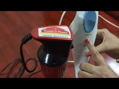 ரெண்டுலயும் எது நல்லா இருக்கு?? Philips Vs Meenatchi Hand Blender | Demo Review Discount Price