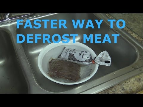 Faster Way To Defrost Meat