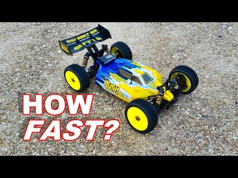 How Fast is the Thunder Tiger Bushmaster 8E - HUGE RC BUGGY - TheRcSaylors