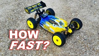 Gambar cover How Fast is the Thunder Tiger Bushmaster 8E - HUGE RC BUGGY - TheRcSaylors