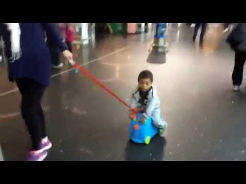 Trunki Suitcase At The Airport (Amsterdam)