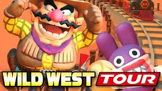 ALL WILD WEST TOUR CUPS 100%! | Mario Kart Tour (Android & IOS)