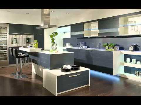 Interior design kitchen cabinet malaysia interior kitchen design 2015 youtube Modern houses interior kitchen