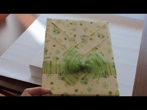 Envolver regalo de forma original kimono youtube - Envolver regalos original ...