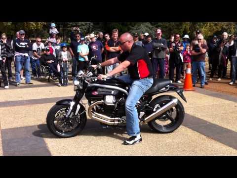 Moto Guzzi Griso with Zard - no db killer | Doovi