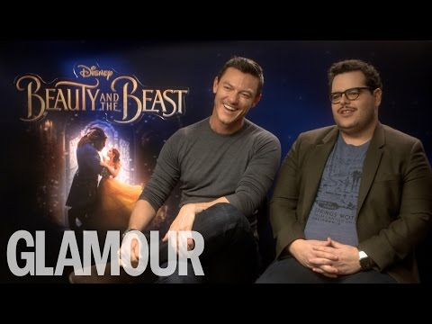Luke Evans & Josh Gad Talk Bromance, Emma Watson Being the Perfect Role Model | Glamour UK
