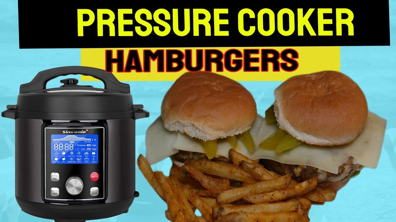 Single hamburger cooker