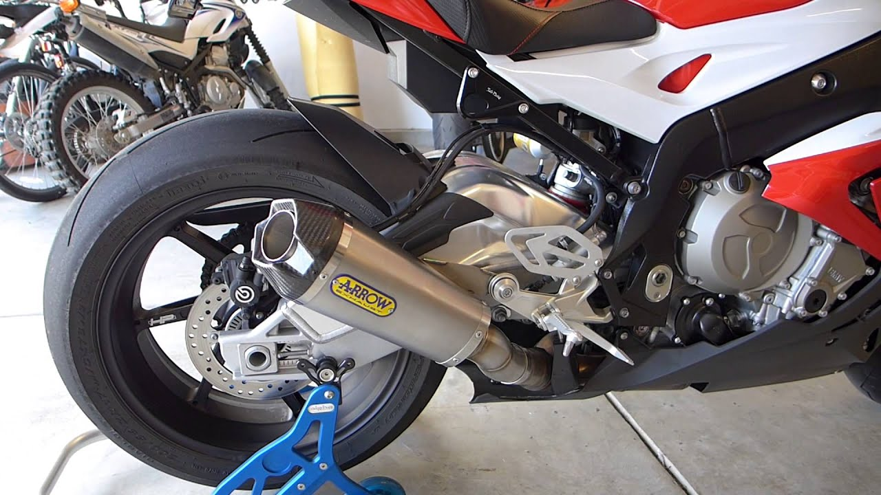 2015 S1000rr Arrow Works Exhaust Youtube