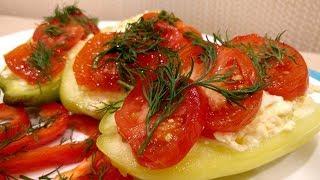 Не Знаете Что Еще Приготовить! Попробуйте Это Блюдо! Фаршированный Болгарский перец с сыром