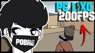 CSGO DE POBRE QUE RODA EM QUALQUER PC (+200 FPS)