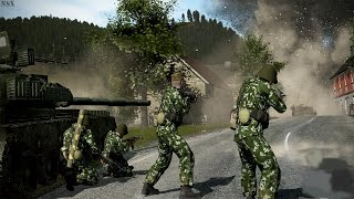 HEAVY COMBAT OF MODERN RUSSIAN ARMY in Epic Strategy Men of War Assault Squad 2 Mod Cold War