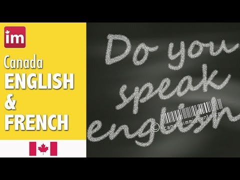 English And French In Canada - Languages In Canada