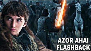 Bran stark's azor ahai flashback! - game of thrones season 8