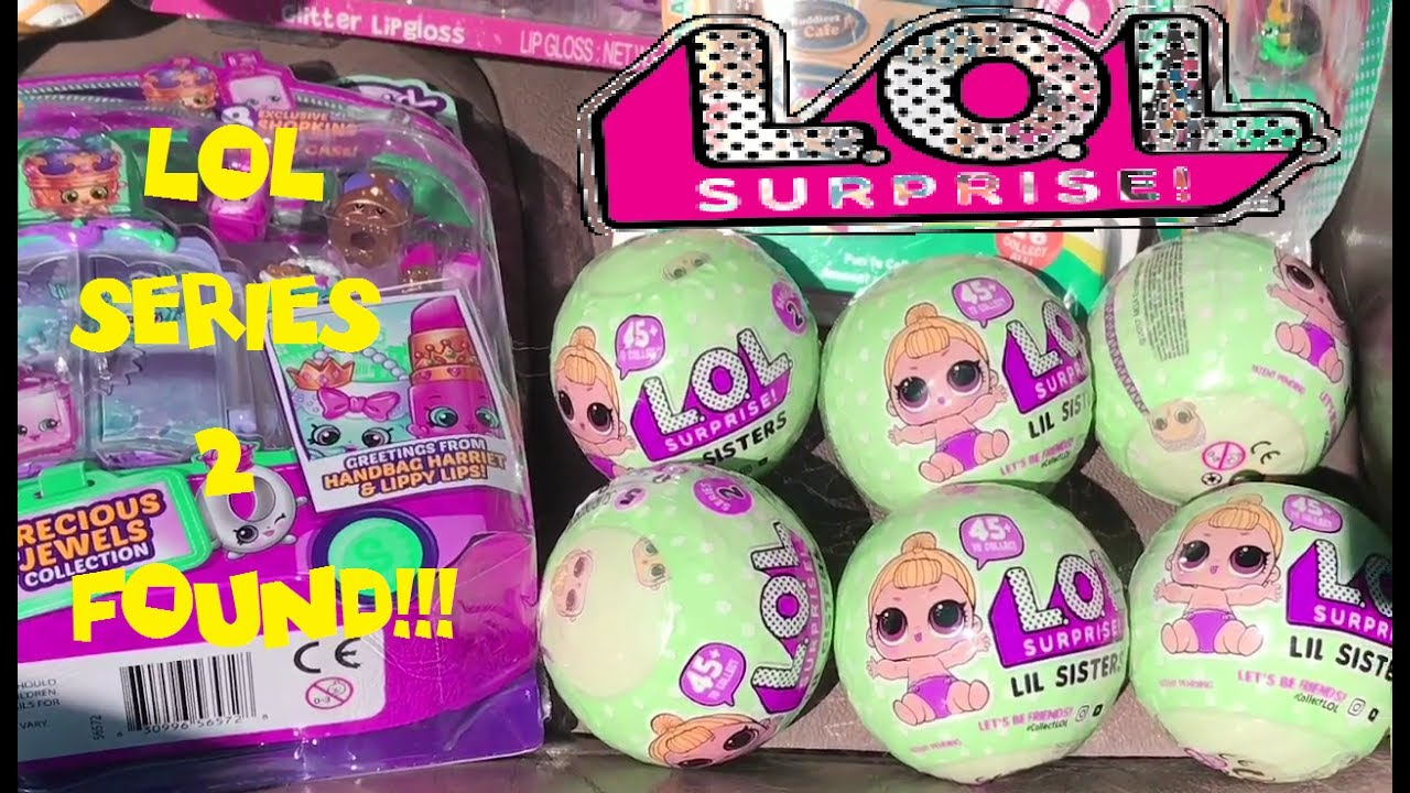 Lol Surprise Dolls Series 2 Found At Target Lil Sisters Tiny