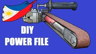 Cover images Diy Power File With Angle Grinder