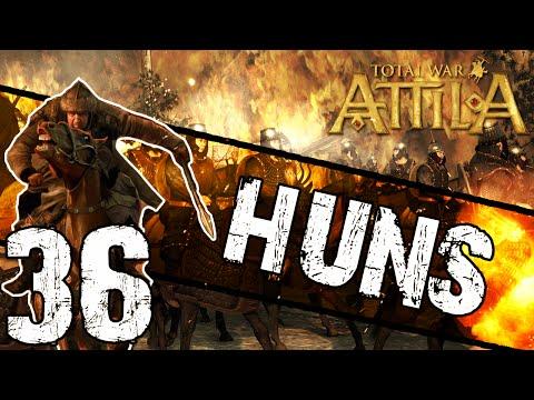 Total War: Attila - Huns Campaign #36 ~ Wrecked Walls of Carthage!