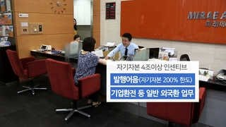 어음발행ㆍ외국환업무 허용…초대형 투자은행 육성