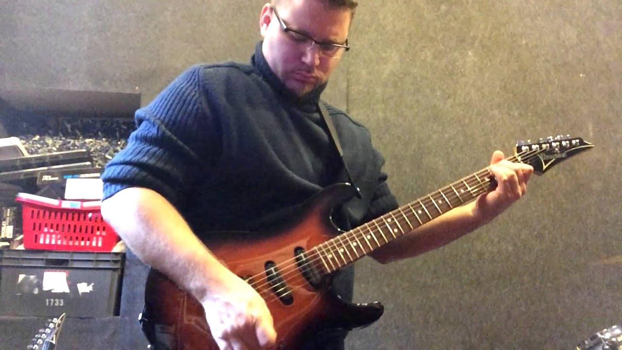 ibanez at200 av andy timmons signature youtube