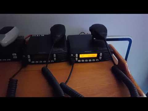 Kenwood NX-800 - Summer School Bus Radio Chatter with FleetSync