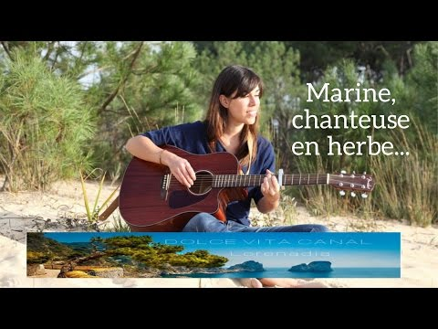 FR/  Marine, chanteuse en herbe par Lorenadia