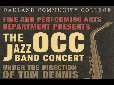 """Sing, Sing, Sing"" (w/ Extended Buddy Rich Drum Solo) - Oakland Community College Jazz Ensemble"