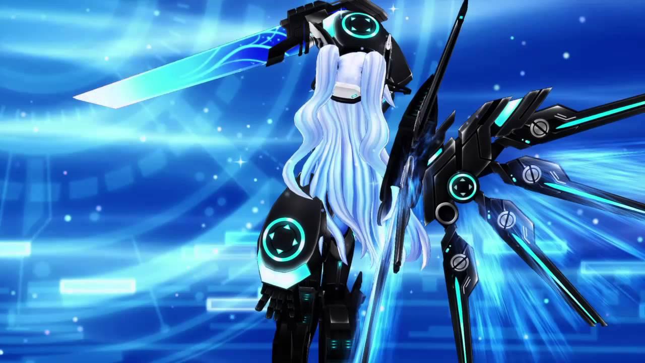 Megadimension Neptunia VII Noire Next Form - YouTube