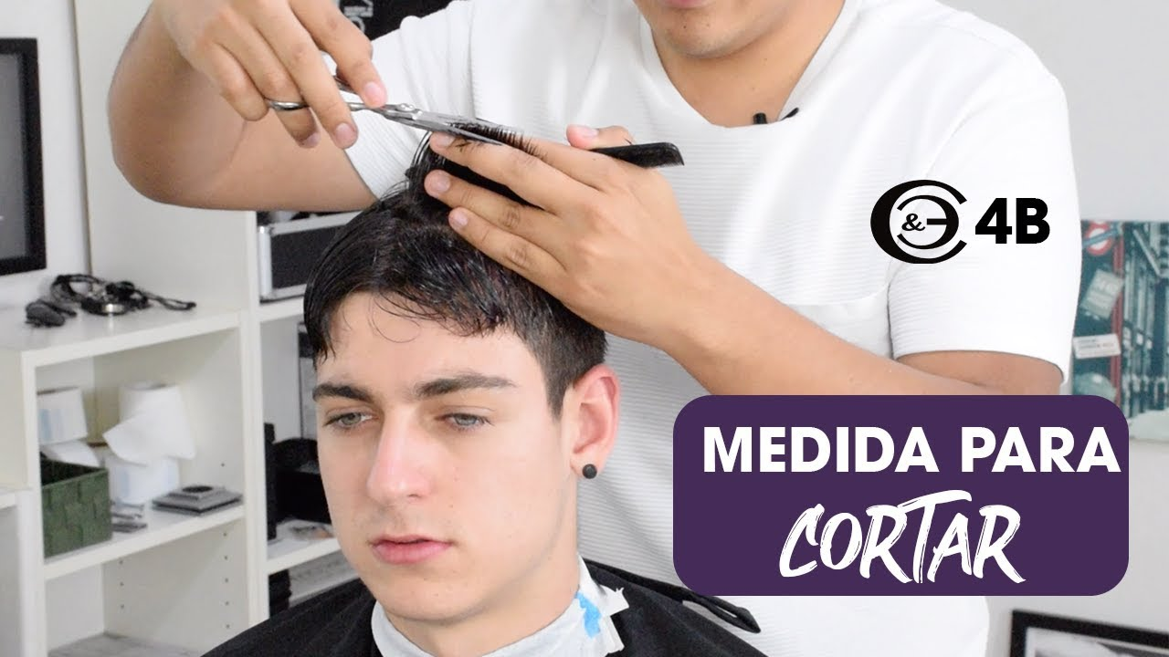 Como cortar el pelo de arriba hombre