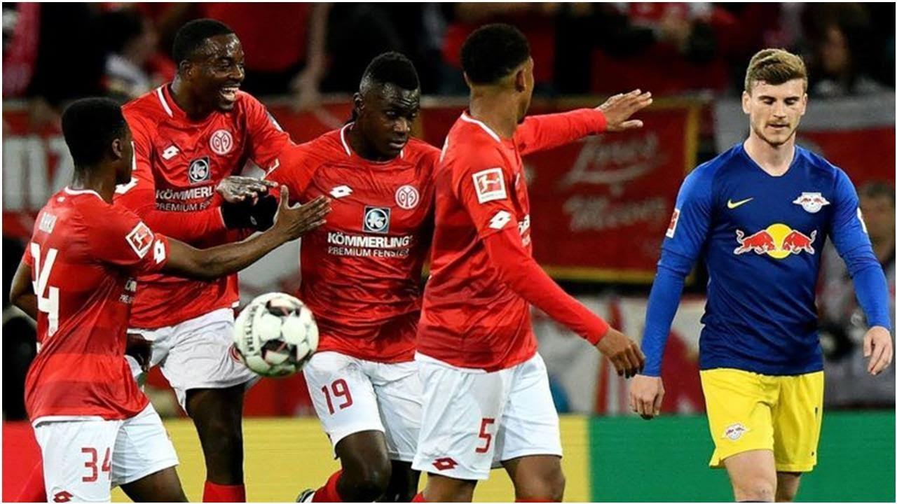 Video Bundesliga Fsv Mainz 05 Mit 3 3 Remis Gegen Rb