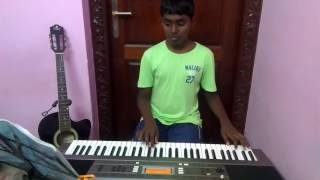 Jebez Oswald Plays 'Thanthen Ennai '  In Keyboard