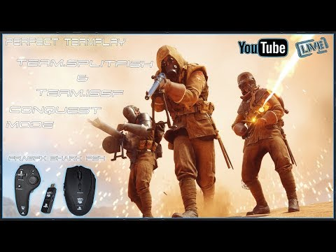 BATTLEFIELD 1 [ BEST SQUAD ] - FRAGFX SHARK PS4 PRO GAMING MOUSE 🖱️ - Sony officially licensed