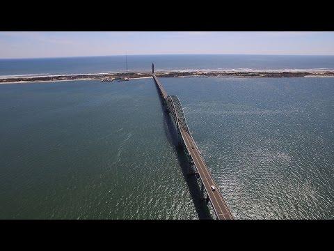 Fire Island Lighthouse and Long Beach - Dji Phantom 3