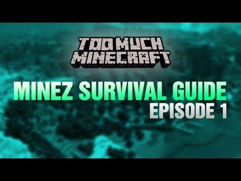 Minecraft: MineZ Survival Guide #1