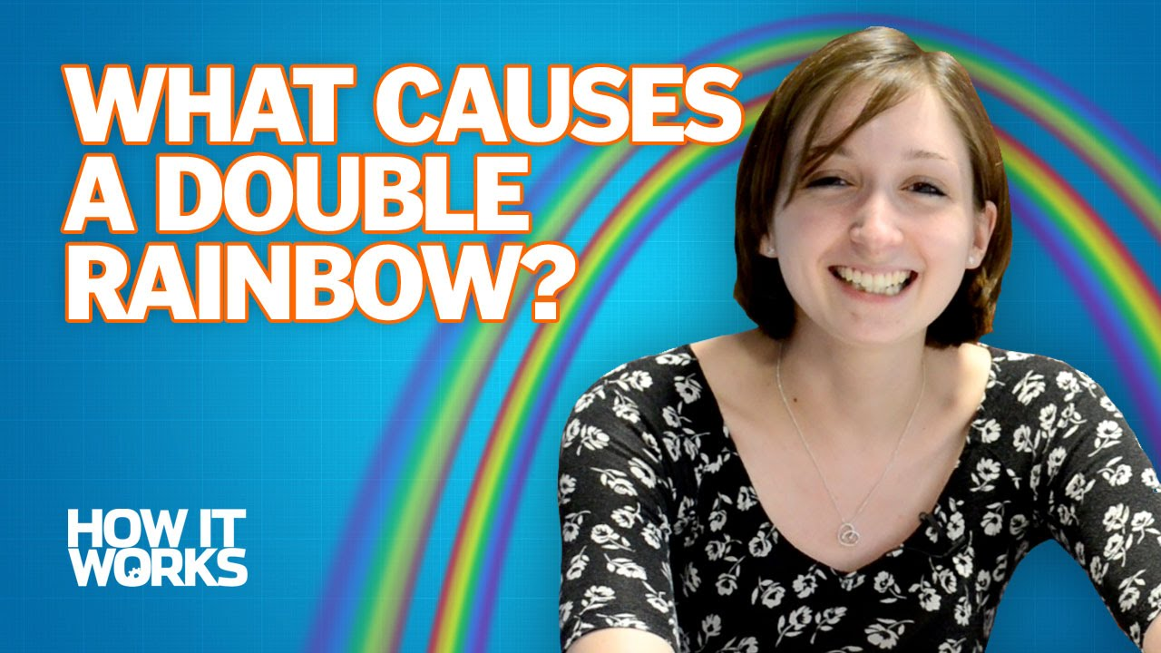 What causes a double rainbow? - YouTube