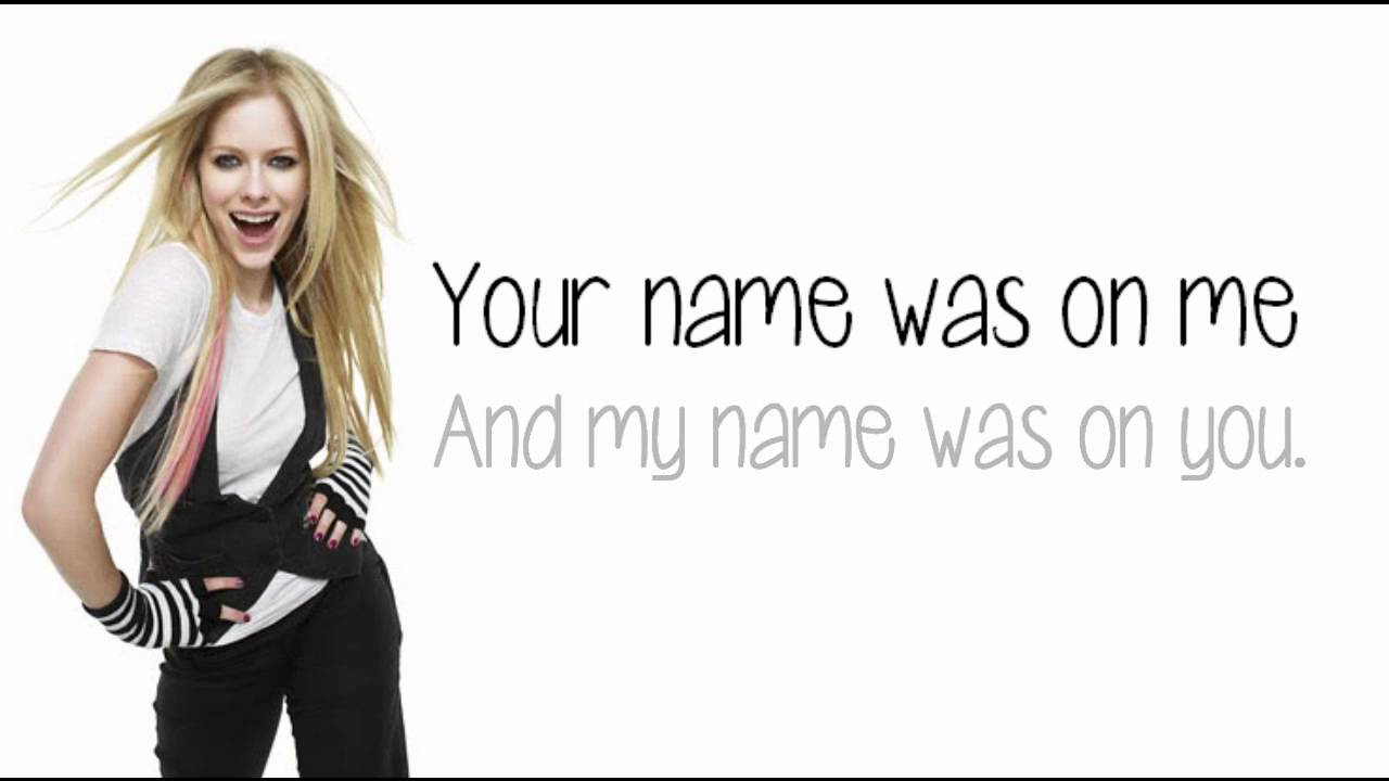 Avril Lavigne - Smile (Lyrics) New Song 2011 - YouTube Avril Lavigne Lyrics