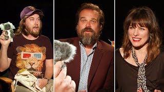 Ozzy Man Interviews DAVID HARBOUR & MILLA JOVOVICH Plus GUESS THE AUSSIE SLANG