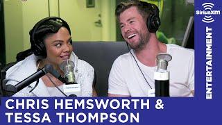 Chris Hemsworth & Tessa Thompson Play 'Word Association'