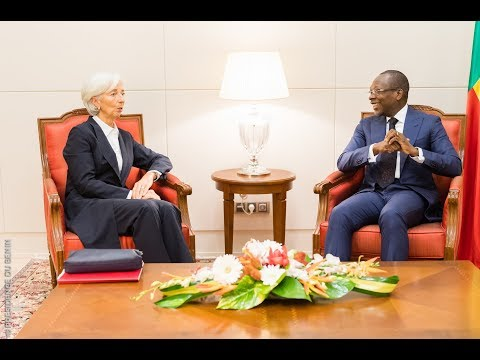 Visite de la DG/FMI Christine Lagarde au Président Patrice Talon