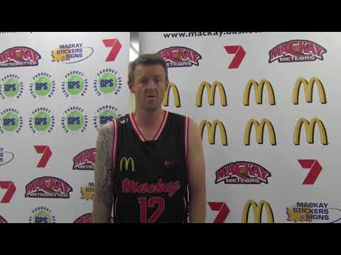 Mackay Meteors' Cameron Tragardh Post Game One Interview