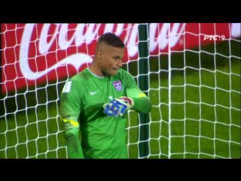 Serbia - USA,  Maksimovic scores a penalty against USA for semi-finals