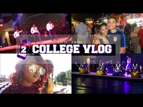 College Vlog #2   Homecoming, National Fair, Greek Step Show & Comedy Show