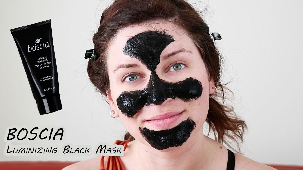 �ล�าร���หารู��า�สำหรั� Boscia Luminizing Black Mask