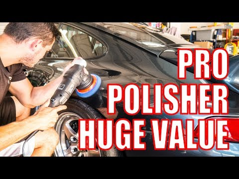 Pro Dual Action Polisher Less than $200