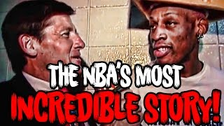 How Craig Sager Saved Dennis Rodman From Kill...
