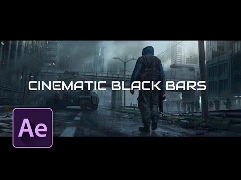 After Effects Tutorial: Create Black Cinematic Bars