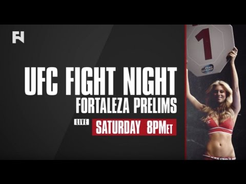 UFC Fight Night Fortaleza Prelims LIVE Sat., March 11, 2017 In Canada On Fight Network
