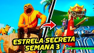 STAR SECRET SEASON 9 WEEK 3-Fortnite Battle Royale