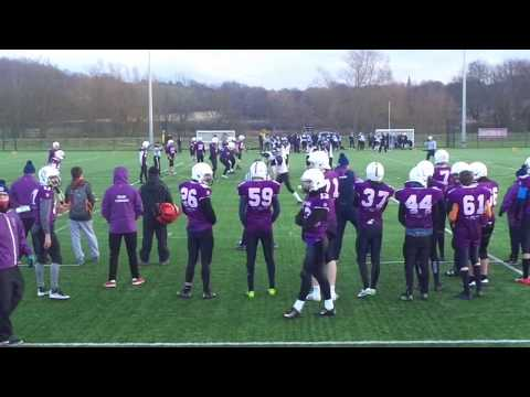 Durham Saints Vs. Leeds Beckett University (10 Dec 2017) (American football)