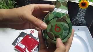 Monster Beats By Dr Dre Limited Edition Camouflage Studio Headphone