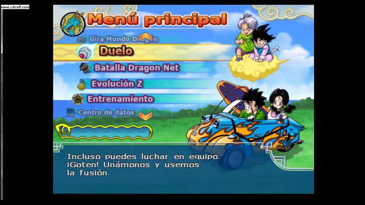 List 2 Fusion Tenkaichi Budokai Dragon Ball Z